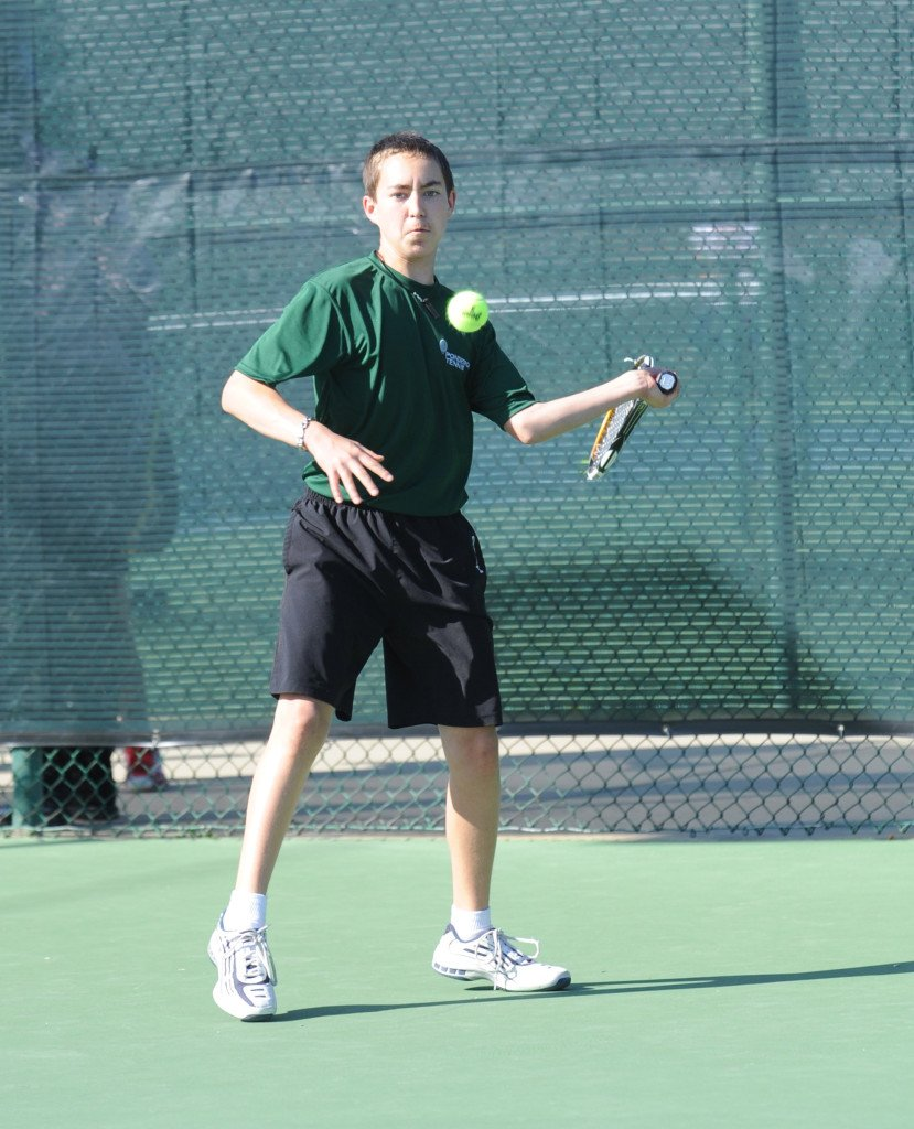 Bruin, Trip Moore. #1 singles. Democrat photo by Shelly Thorene