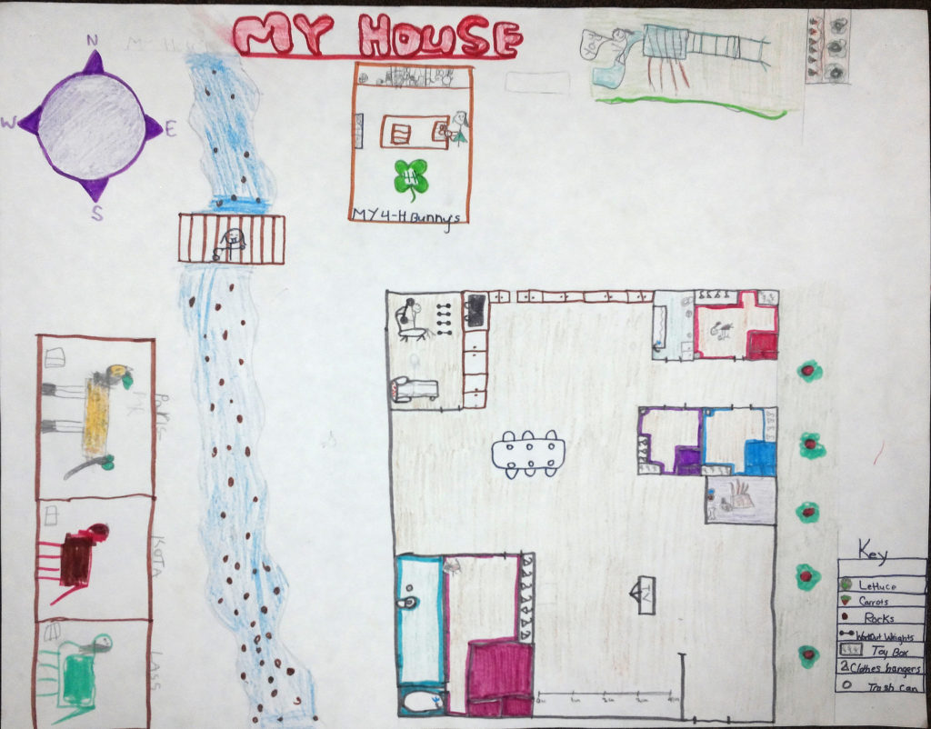 My House Map maps1st Grade – My House My House Map