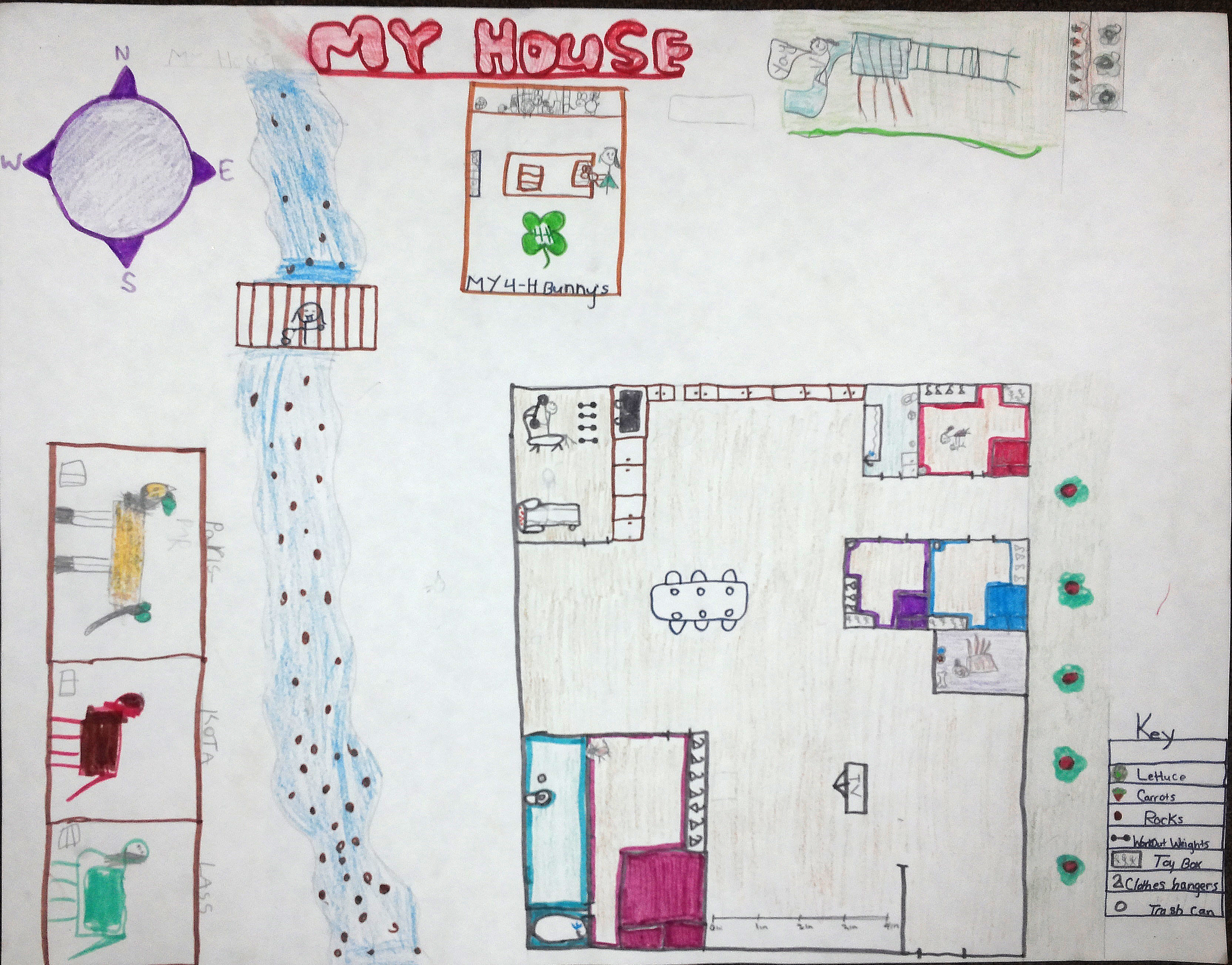 My House Map Student maps show new directions My House Map
