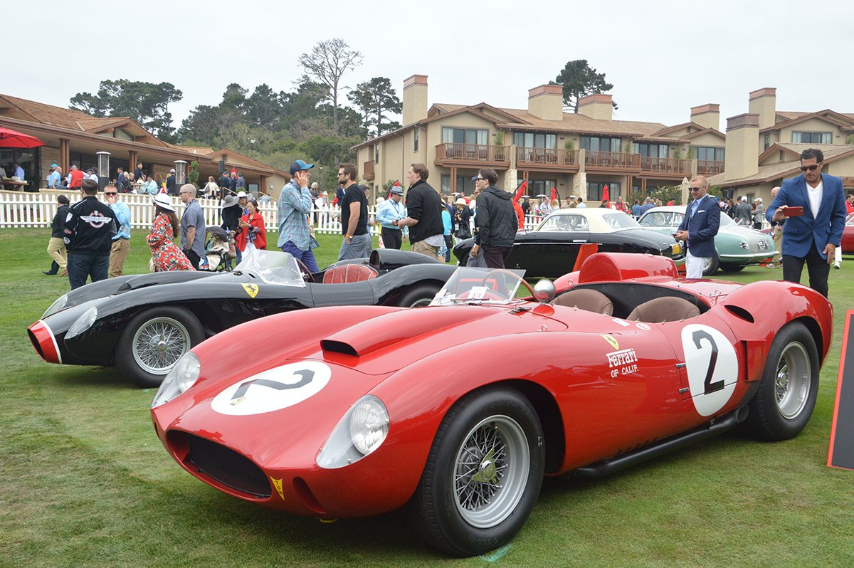 Pebble Beach Concours Delegance No Signs Of Aging - Pebble beach car show ticket prices