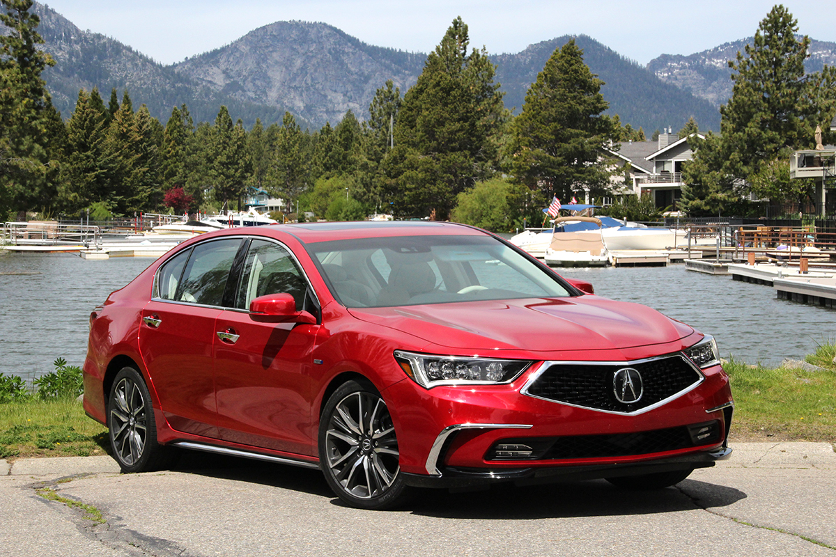 The 2018 Rlx With A Striking New Design That Represents Performance Of Vehicle Within Available In 377 Hp Sport Hybrid Sh Awd 7 Sd Dct Or