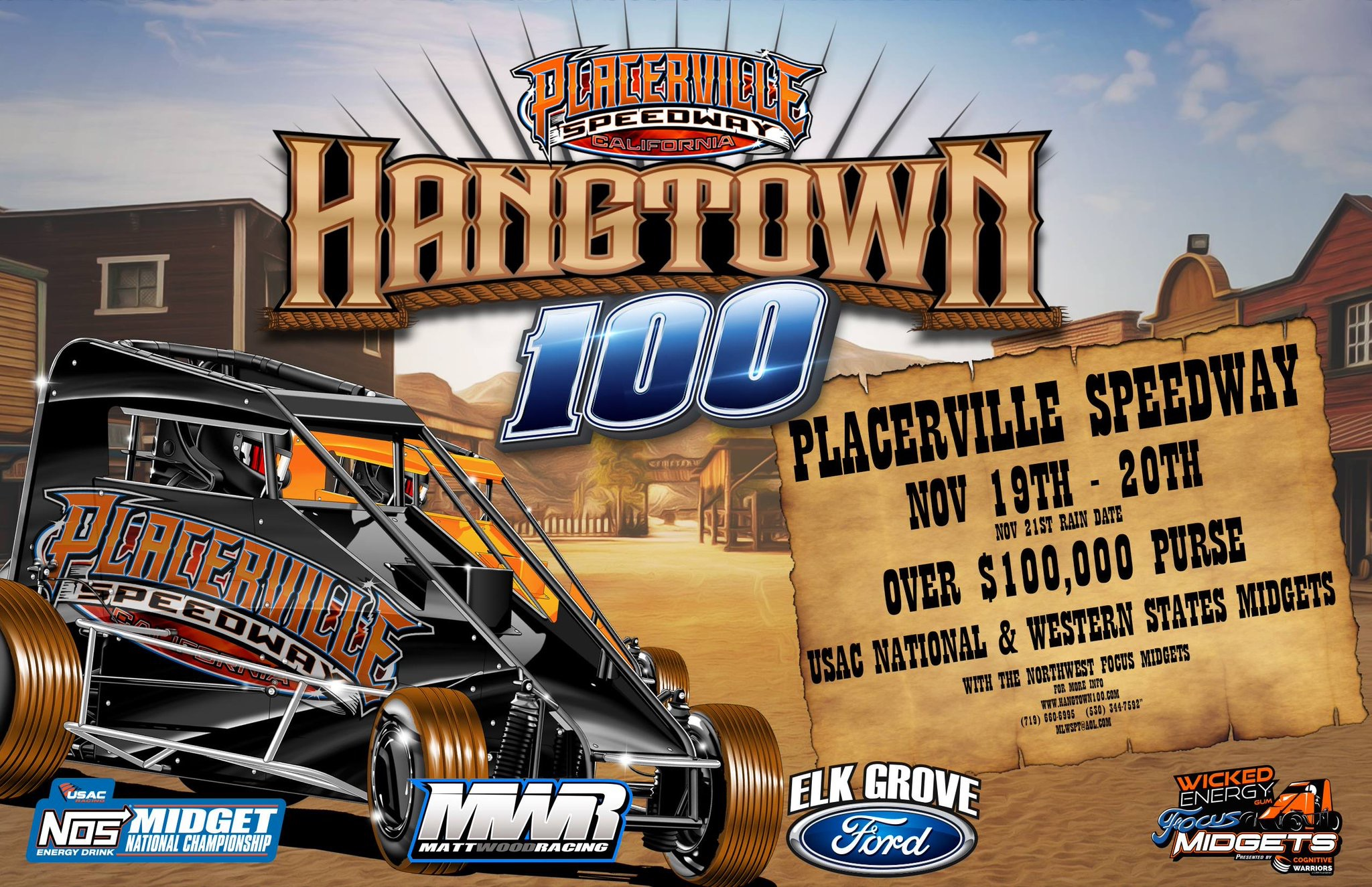 Elk Grove Ford >> Reserved Seats For Elk Grove Ford Hangtown 100 Go On Sale Feb 14